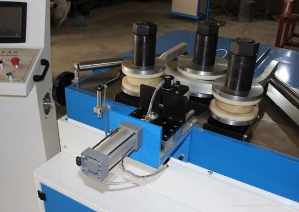 CNC aluminum window door profile arc bending machine 2