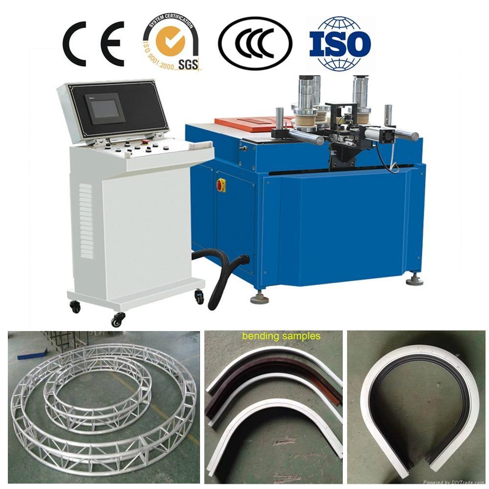 CNC aluminum window door profile arc bending machine 1