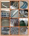 CNC aluminum window door profile arc bending machine 5