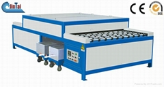 horizontal glass washing drying machine double glass processing machine