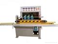 horizontal glass edge polishing machine