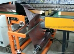 Automatic transfer film bagging machine