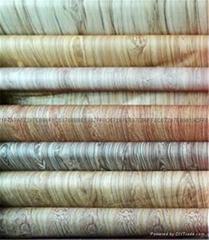 wood grain transfer paper  for aluminum profile