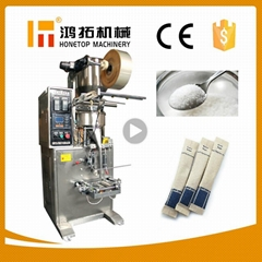 Granule 1-300g sugar stick packaging machine, price of automatic salt sachet pac