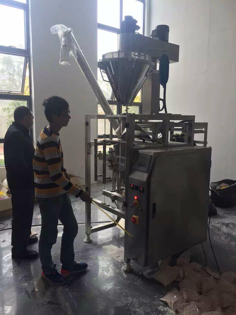 washing powder detergent filling packing machine 2