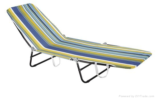 Affordable and adjustable steel chaise lounge xyb 003 for Affordable chaise