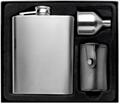 Custom logo high quality 304 stainless steel 6oz hip flask 2