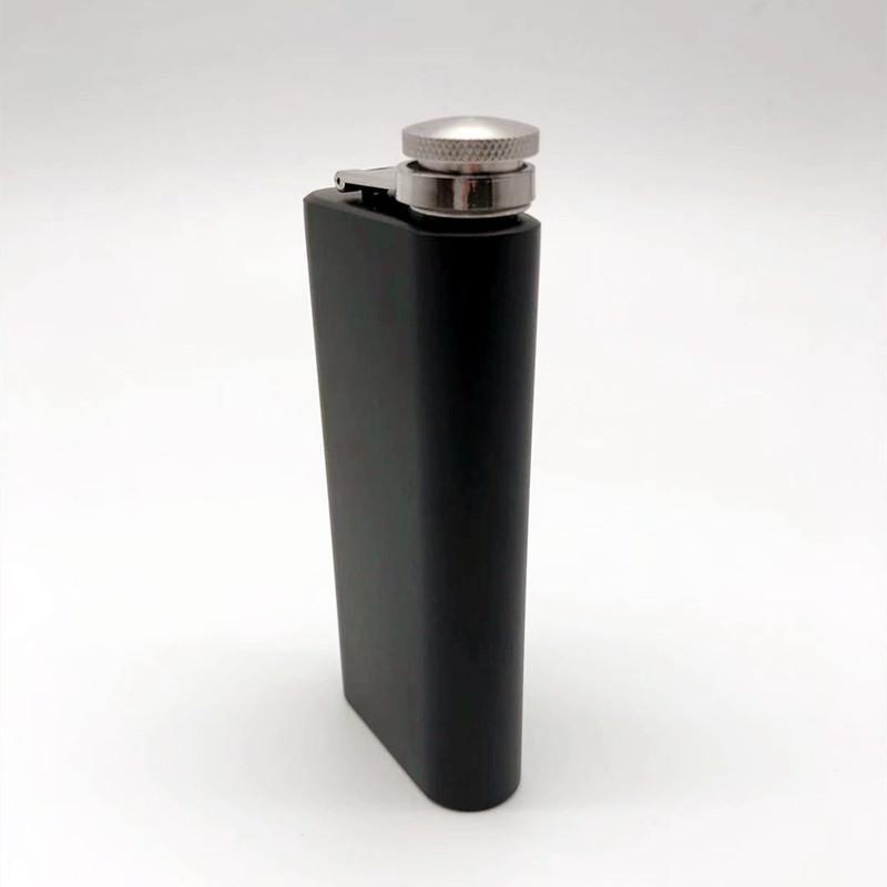 5 OZ stainless steel hip flask rectangles portable whisky mug 1