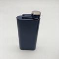 5 OZ stainless steel hip flask rectangles portable whisky mug 2