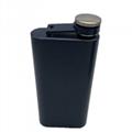 5 OZ stainless steel hip flask rectangles portable whisky mug 5