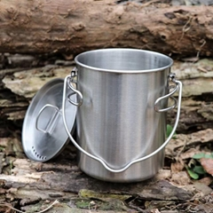 750ml outdoor stainless steel coffee mug