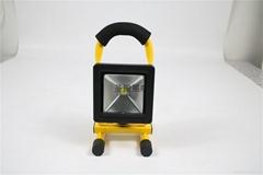 夜垂钓鱼灯可配三角架露营车载应急手提泛光灯便携led充电投光灯