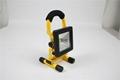夜垂釣魚燈可配三角架露營車載應急手提氾光燈便攜led充電投光燈 2