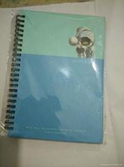 Sprial notebook