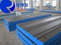 动力总成试验平台铁地板专业生产