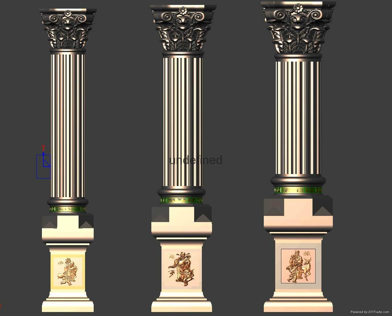 老王羅馬柱模具 2