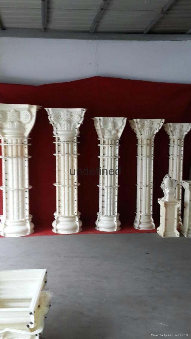 老王羅馬柱模具 3
