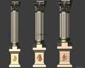 優質老王羅馬柱模具 2