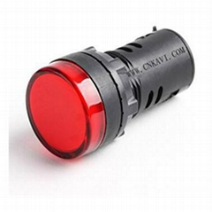 Led Pilot Lamp Signal Light Indicator 22mm  AD26B-22DS Red