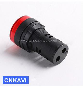 Led Pilot Lamp Signal Light Indicator Light 22mm AD26B-22DS Red  2