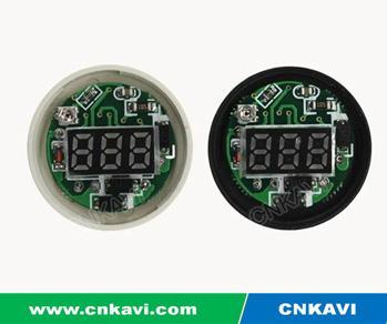 AC Digital Voltage Meter Voltmeter 22mm 4
