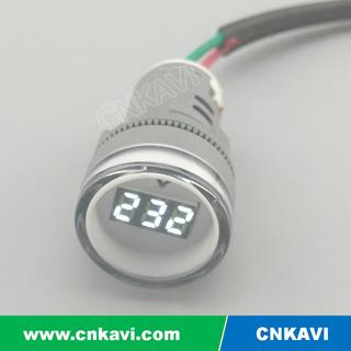 AC Digital Voltage Meter Voltmeter 22mm 1