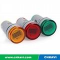 AC Digital Voltage Meter Voltmeter 22mm 2