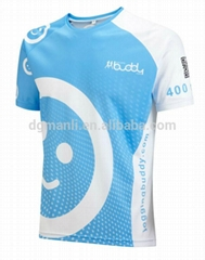 Dye sublimation printing colorful wholesale running wear
