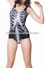 2016 sublimation printing fabric swimwear for women