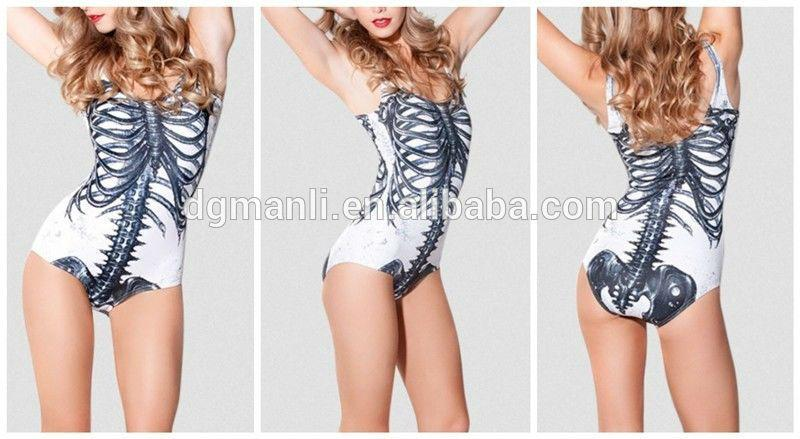 2016 sublimation printing fabric swimwear for women 3