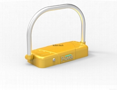 Remote Control AA Battery Powered Parking Lock