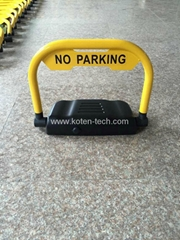 Cellphone Remote Control Parking Bay Barrier through Bluetooth
