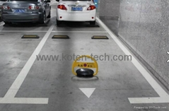 Lead-acid Battery Powered Remote Control Parking Space Protector