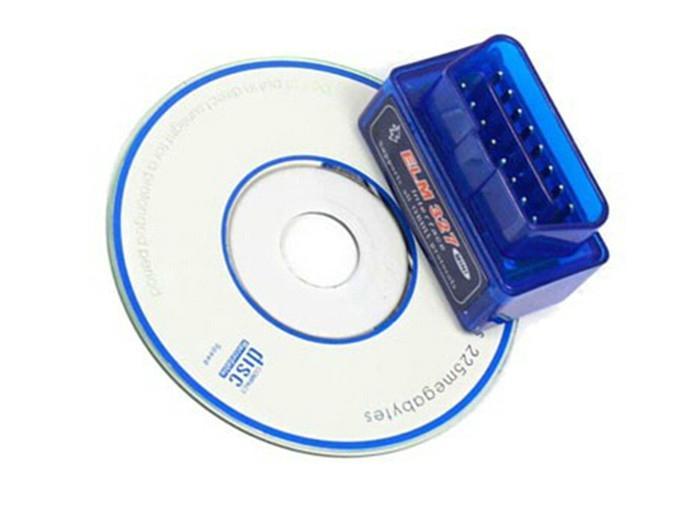 Mini Elm 327 Bluetooth Diagnostic Car Auto Scanner 2