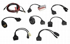 OBD II/OBD 2 Full set 8 Cable for Auto TCS scanner Cdp Pro Truck Cables +Car Cab