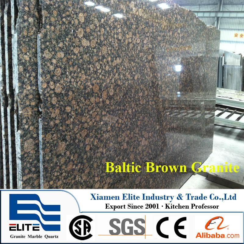 India Baltic Brown Granite Slab - Elite Stone (China