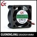 Manufacture selling 12v dc 2510 cooling