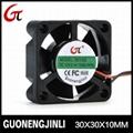 Manufacture selling 12v dc 3010 cooling