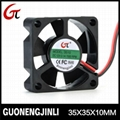 Manufacture selling 12v 3510 green axial