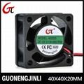 Manufacture selling 12V 4020 cooling fan