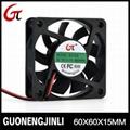 Manufacture selling 12V 6015 dc cooling