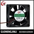 Manufacture selling 12V 6020 dc cooling