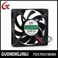 Manufacture selling 12V 7015 dc cooling