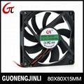 Manufacture selling 12V 8015 dc cooling