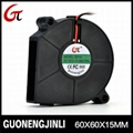Manufacture selling 12V 6015 dc blower fan with high speed for car purifier 1