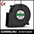 Manufacture selling 12V 9733 dc blower