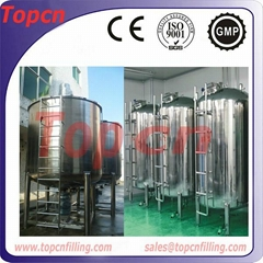 1000L stainless steel Liquid Mixing Tank