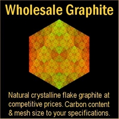 High quality natural crystalline graphite at wholesale