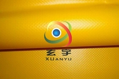 生产500D高强18*17各种规格颜色压纹箱包专用PVC夹网布