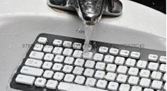 鍵盤納米防水塗層技術